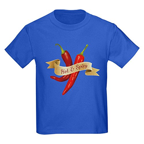 Truly Teague Kids Dark T-Shirt Hot & Spicy Chili Peppers - Royal Blue, XL (Royal Cook Tortilla compare prices)