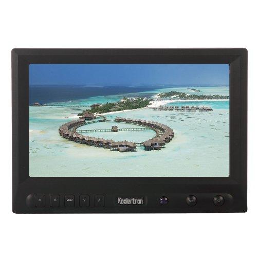 Koolertron 8 Inch Hd Fpv Monitor W/Sunhood High Resolution No Blue Screen