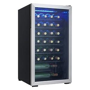 Danby DWC93BLSDB 36 Bottle Wine Cooler by MAS Inc