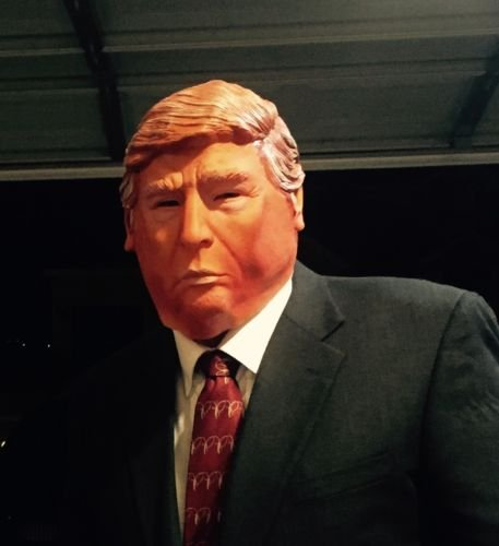 [Donald Trump Costume Mask, US Seller - Halloween, Parties, Tailgating] (National Costume Of All Countries)