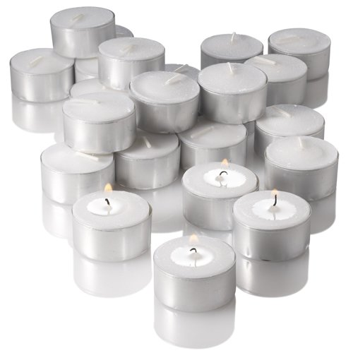 Richland® Tealight Candles Extended Burn White Unscented Set Of 400