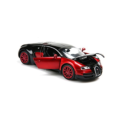 New style 1:32 Bugatti Veyron Alloy Diecast car model collection light&sound Red (Diecast Models compare prices)