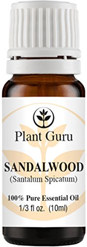 Sandalwood (Australian) Essential Oil. 10 ml. 100% Pure, Undiluted, Therapeutic Grade.