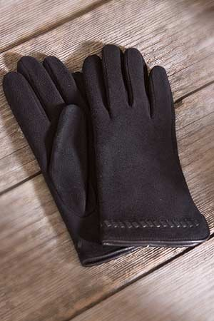 Buy Women's Deer Suede Gloves with Wrist Lacing