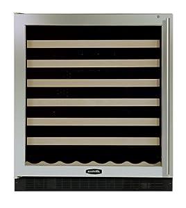 Marvel 15 inch wide under counter wine cellar for 15 inch wide closet door