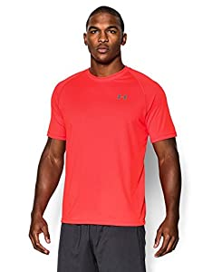 Under Armour Men's UA Tech™ Short Sleeve T-Shirt 3XL BOLT ORANGE