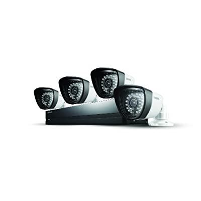 Samsung SDS-P3042 4 Channel All-in-one DVR Security System