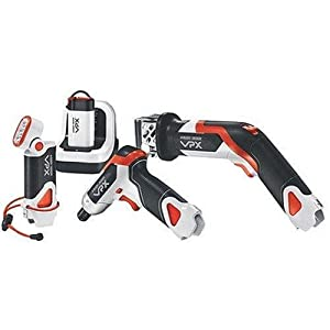 Black & Decker VPX903X1 Lithium-Ion VPX Starter Set with Power Screwdriver, Cut Saw, Flashlight, and VPX Battery with Charger