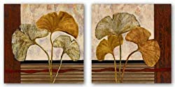 "Urban Ginkgo Set by John Kime 24""x24"" Art Print Poster"