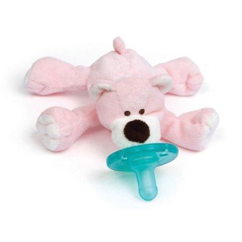 WubbaNub Pink Bear Pacifier