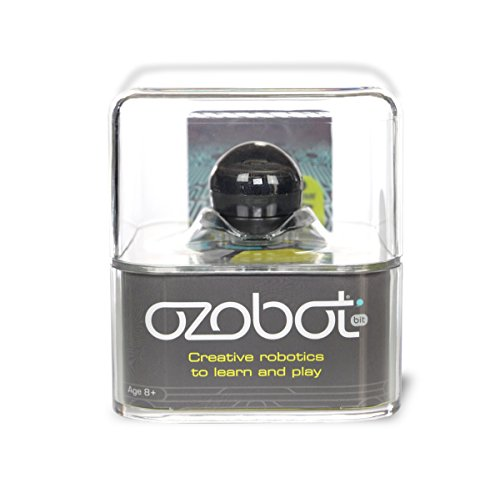Ozobot 2.0 Bit, the Educational Toy Robot that Teaches STEM and Coding, Titanium Black - 41uUcYuXZQL - Bit 1.0 Extra Bot, Black