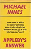 Appleby's Answer (0575013966) by Innes, Michael