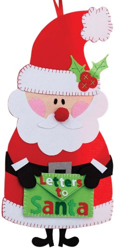 Mud Pie Door Hanger, Santa