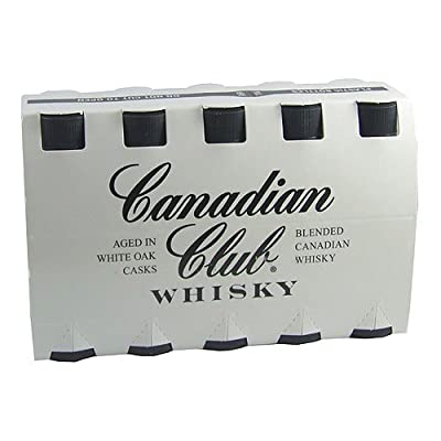 Canadian Club Blended Whisky 5cl Miniature - 10 Pack by Canadian Club