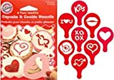 Wilton Sweetheart Cupcake & Cookie Stencils