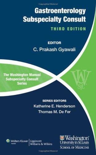 The Washington Manual Of Gastroenterology Subspecialty Consult (Washington Manual Subspecialty Consult) front-904777