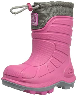 Viking Extreme 5-75400-903, Unisex-Kinder Schneestiefel, Pink (pink/grey 903), EU 21
