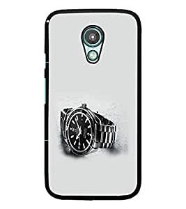 PrintDhaba Watch D-2021 Back Case Cover for MEIZU M1 NOTE (Multi-Coloured)