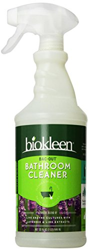 Biokleen Bac-Out Bathroom Cleaner, 32 Ounces (Pack of 6)