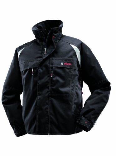 Bosch Professional, Giacca professionale da pilota, Nero (schwarz) - 618800143, Taglia L