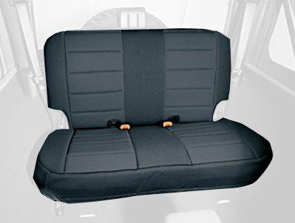 Rugged Ridge 13261.01 Black Custom Neoprene Rear Seat Cover front-315585