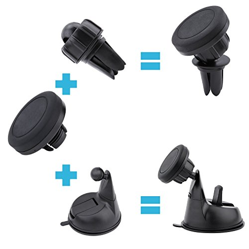 Magnetic-Car-Mount-l-Jetesun-3-in-1-Universal-Adjustible-DashboardWindshieldAir-Vent-Car-Mount-Holder-for-Apple-iPhone-SE-6-6-Plus-iPhone-5S-5C-5-Samsung-Galaxy-Edge-S7-S6-HTC-M9-Nexus-5-4-And-Other-C