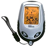 DIGITAL HANDHELD COMPASS WITH THERMO ALARM CLOCK