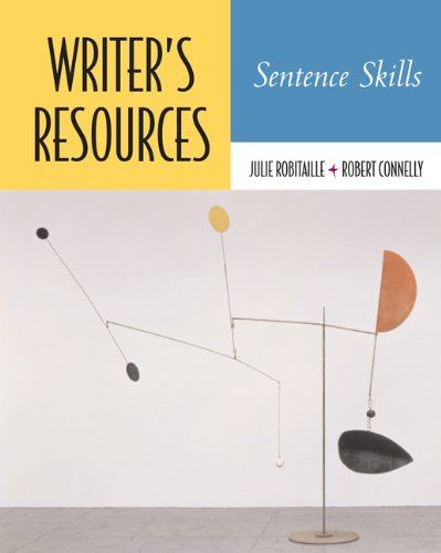 Writer's Resources: Sentence Skills (with Writer's Resources CD-ROM)