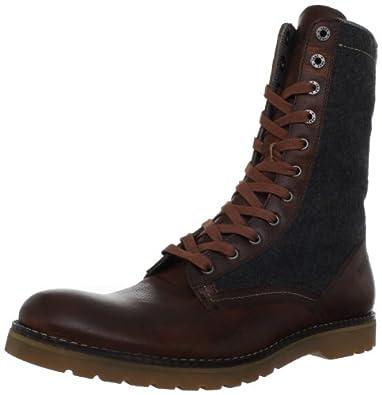 Wolverine No. 1883 Men's Seger Engineer Boot, Brown/Grey, 7 M US