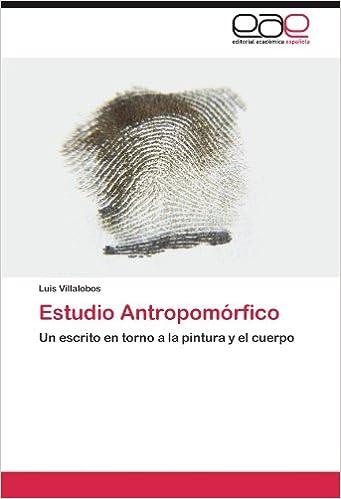 Estudio antropom rfico villalobos luis libros for Aerografo crayola amazon