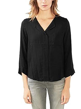 edc by ESPRIT Camisa Mujer (Negro)