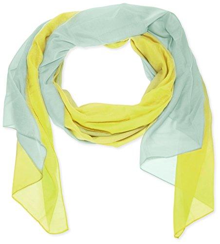 Pieces - PCJOY SCIARPA LUNGA , Sciarpa da donna, giallo (sunny lime), unica