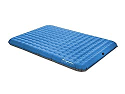 Lightspeed Outdoors 2-Person PVC-Free Air Bed with Battery Operated Pump,Queen Size 55x79 Inch