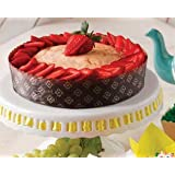 Round Cake Low Panettone Paper Pan Mold - 6 1/8'' X 2 1/8'' - 12Pcs