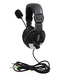 Zebronics ZEB-100HMV Headphones with Mic
