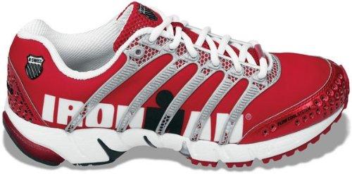 K-Swiss Women's K-Ona S Running Shoes (Red/ Sil/ Wht)