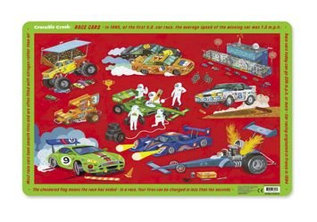 Crocodile Creek Race Cars Placemat