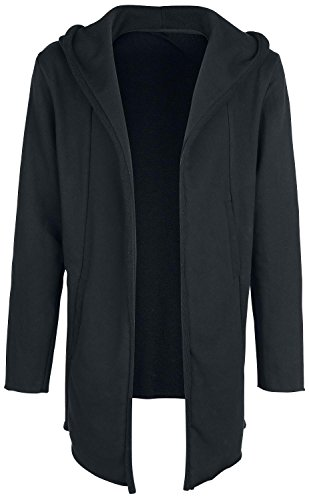 Doomsday Hooded Cardigan Cardigan nero XXL