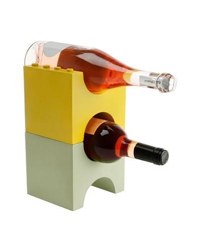 Present time Set De Ladrillos Para Guardar Botellas De Vino Verde