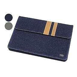 Cotton Denim Pouch for MacBook Air 13\