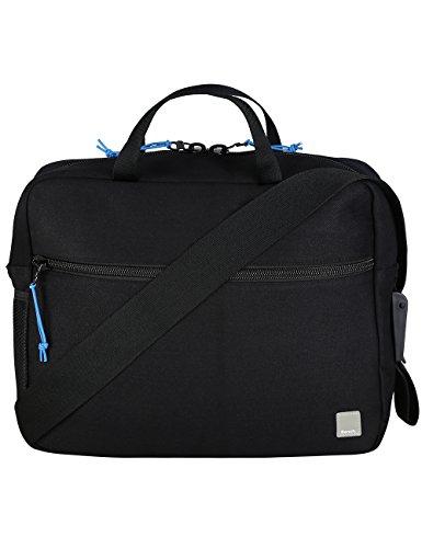 Bench Borsa A Tracolla Emblem, Jet Black, 38.0x 13.0x 30.0cm, 14.8litri, bmxa0806