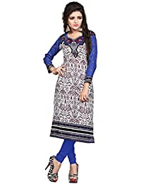 Nakoda Women's Cotton Unstitched Kurti(925_Multi Color_Free Size)