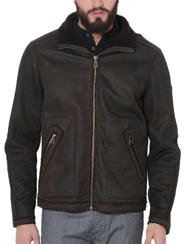 Gas 250716 161200 Topeka M 1281 Men's Jacket Black Coffee X-Large