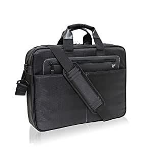 """V7 Cityline 16.1"""" Shock and Water Resistant Toploading Notebook Bag For Dell, ASUS, HP, Acer, Toshiba, Apple, Lenovo notebooks and laptops (CTX1-9N) Black"""