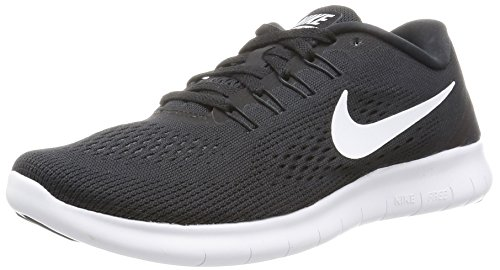 Nike Damen Free Run Laufschuhe, Schwarz (Black/White-Anthracite), 39 EU thumbnail