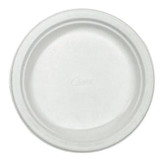 """Chinet VENEER 6-3/4"""" Diameter, Classic White Premium Strength Paper Plate (8 Packs of 125)"""