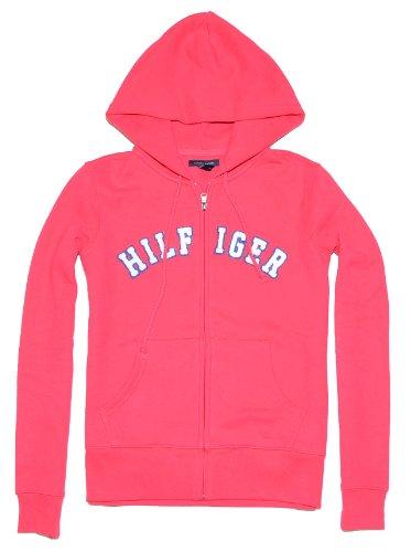 Tommy Hilfiger Women Full Zip Big Logo Hoodie Jacket