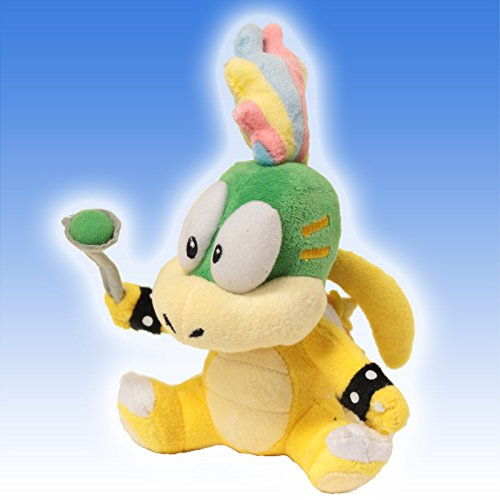 "Super Mario Brothers 5"" Plush Lemmy Koopa Rem toy Doll - 1"