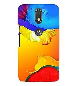 PrintVisa Modern Art Pattern 3D Hard Polycarbonate Designer Back Case Cover for Motorola Moto G4 Plus