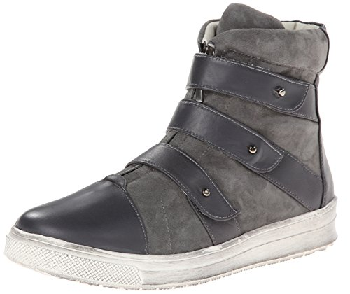 Plomo Women's Libby High Top Fashion Sneaker,Grey,36 BR/6 M US Plomo B00KWECLLU